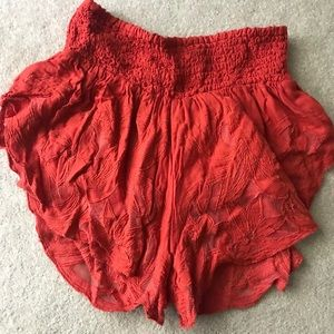 Flow Shorts from Free People NWOT
